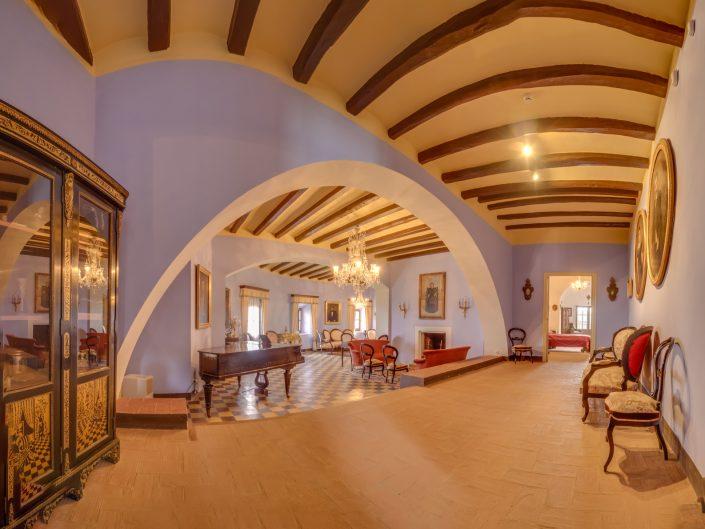 Panoràmica Interior Castell d'Escornalbou (Baix Camp)