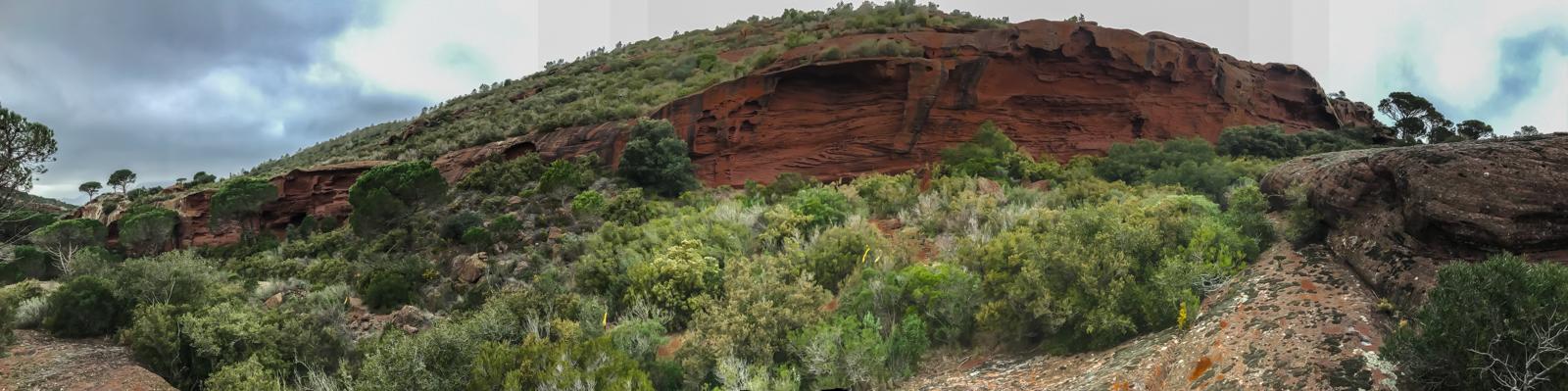 Panoàramica del Pla de l'Areny (Mont-roig del Camp - Tarragona)