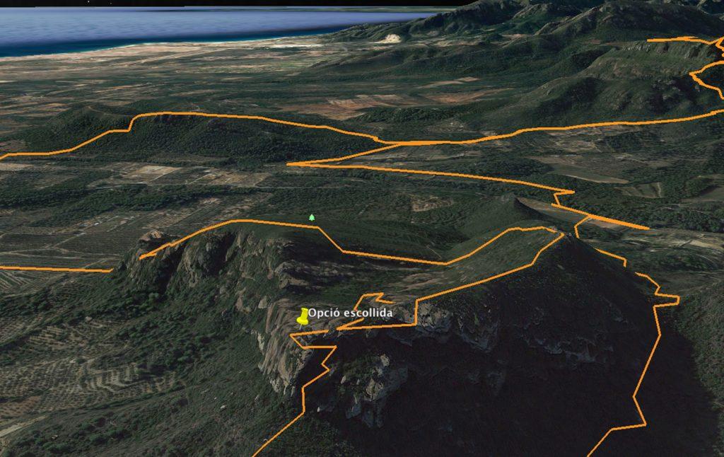 Panoàramica de la Muntanya de l'Areny (Mont-roig del Camp - Tarragona)