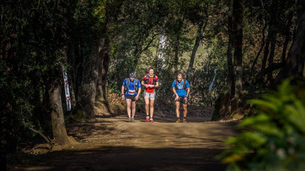 Runners pels camins del Parc Natural de Montnegre i el Corredor