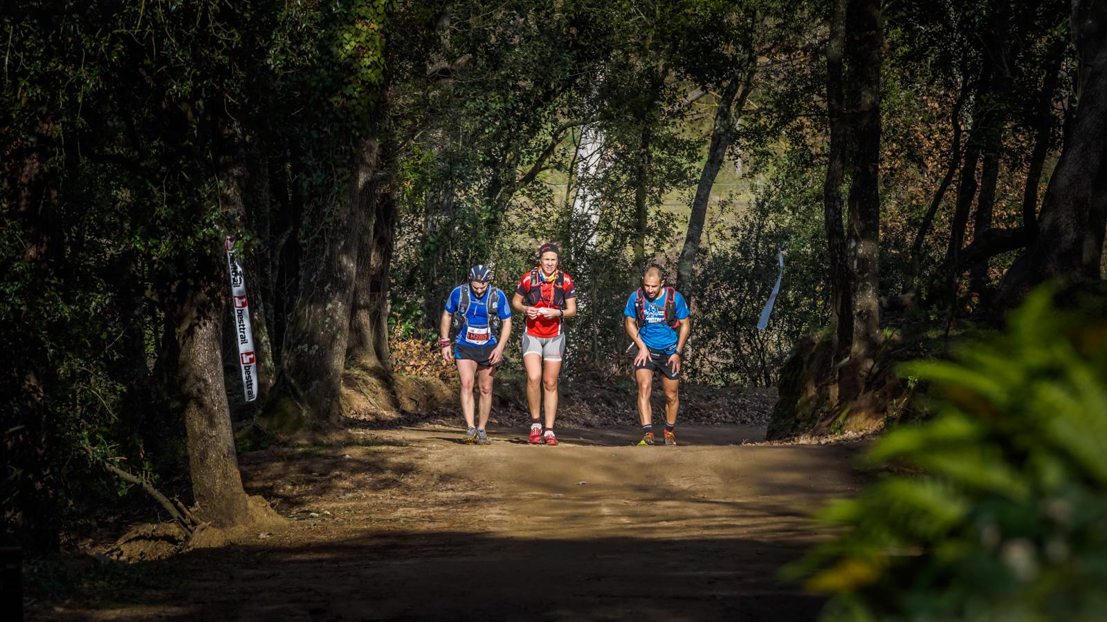Runners els camins del Parc Natural de Montnegre-Corredor
