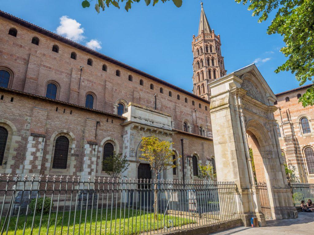 FR-Haute-Garonne-Toulouse-Basilique-Saint-Sernin