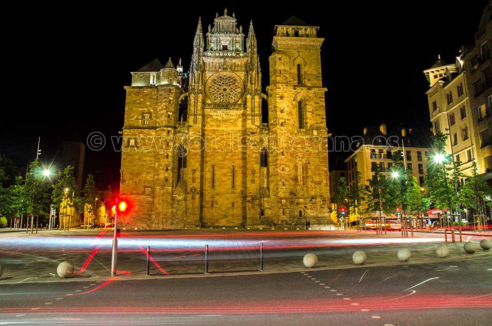 El viejo Rodez y su catedral