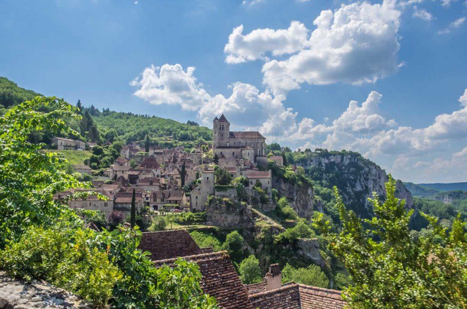 Pueblos medievales de Francia, Saint Cirq Lapopie